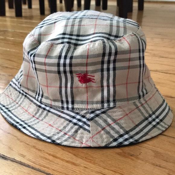 e39652f7b10 Burberry Accessories - Burburry reversible bucket hat